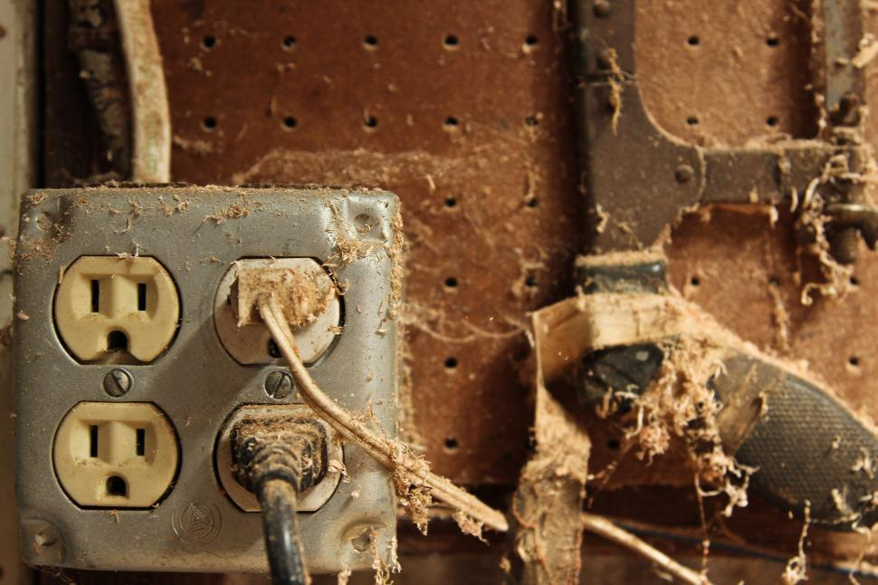 Download Free Stock HD Photo of Old Power Socket Online