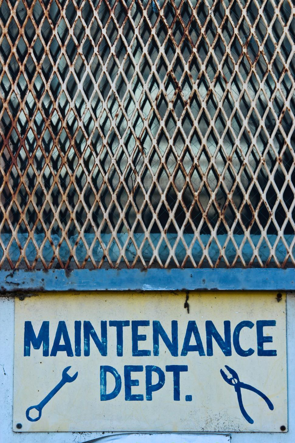 Download Free Stock HD Photo of Maintenance Department Online