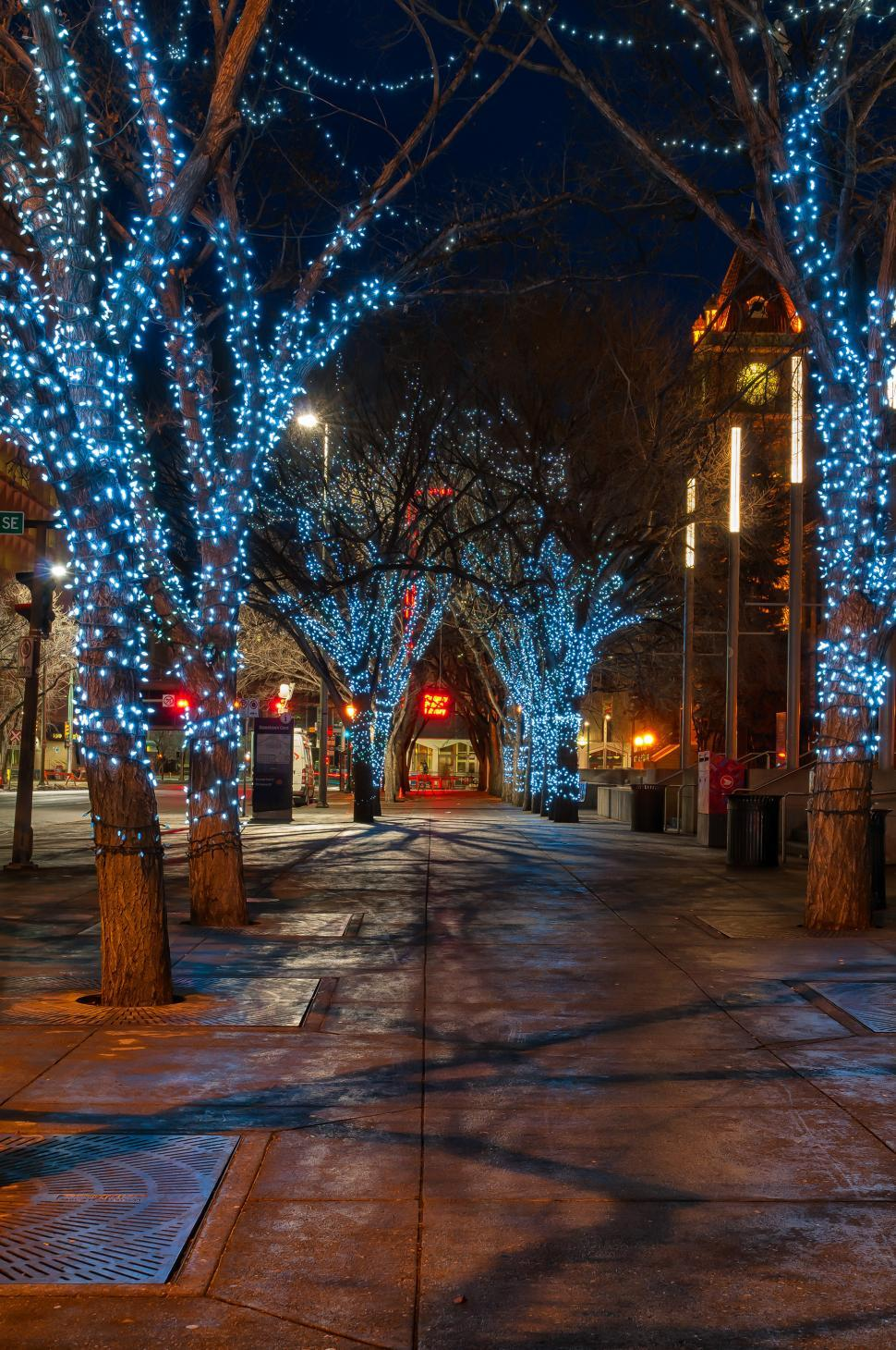 Download Free Stock HD Photo of Decorated Street Online