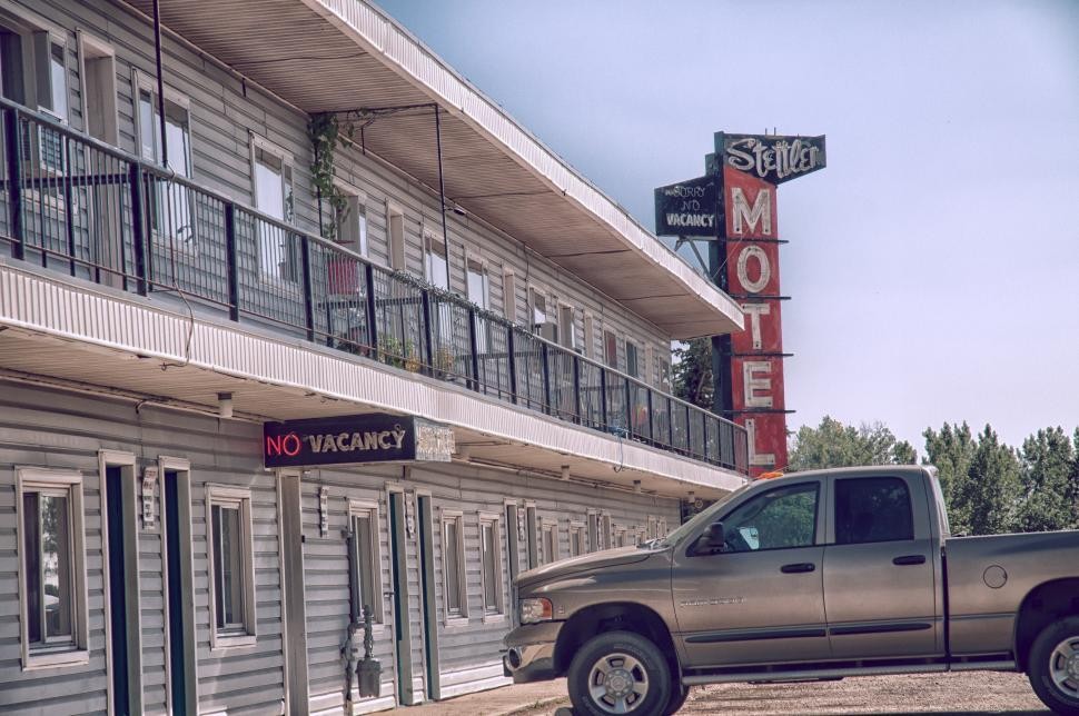 Download Free Stock HD Photo of Motel Parking 2 Online