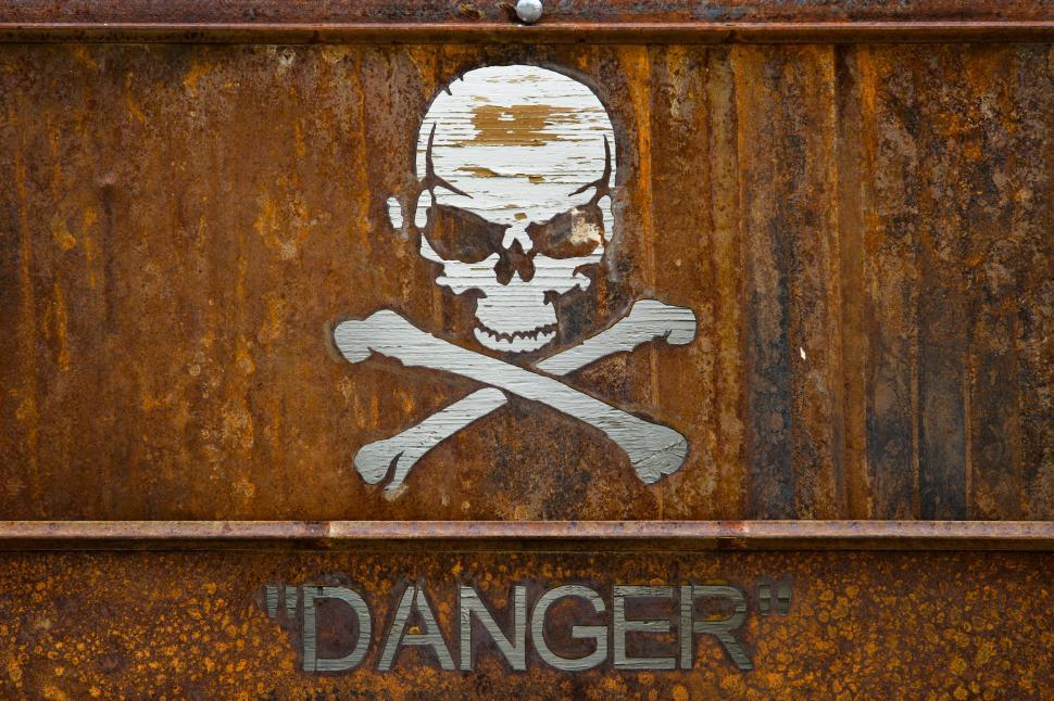 Download Free Stock HD Photo of Warning Sign Danger Online