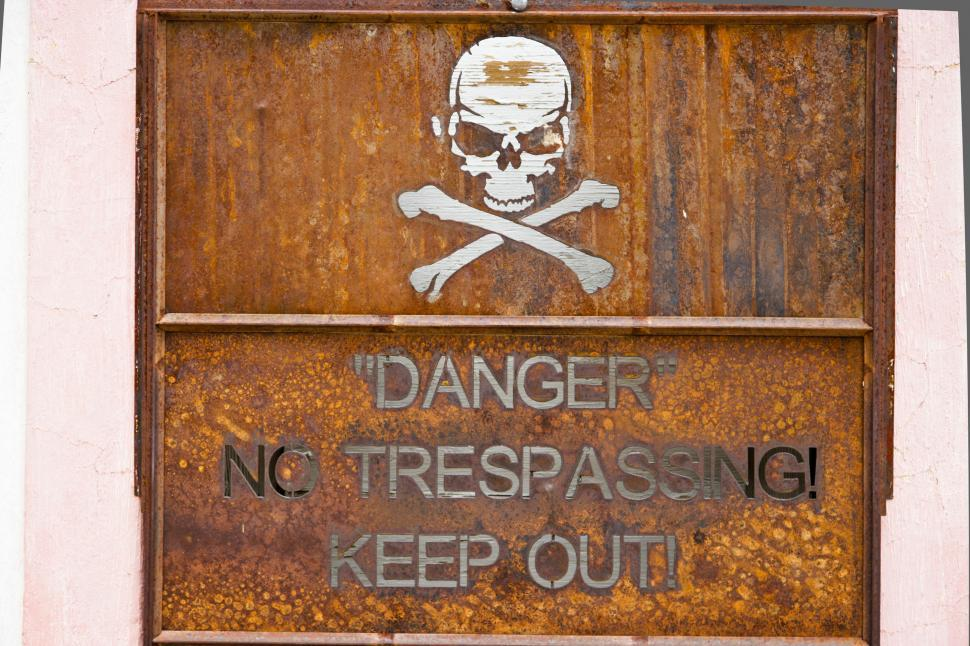 Download Free Stock HD Photo of Keep Out - Danger Online