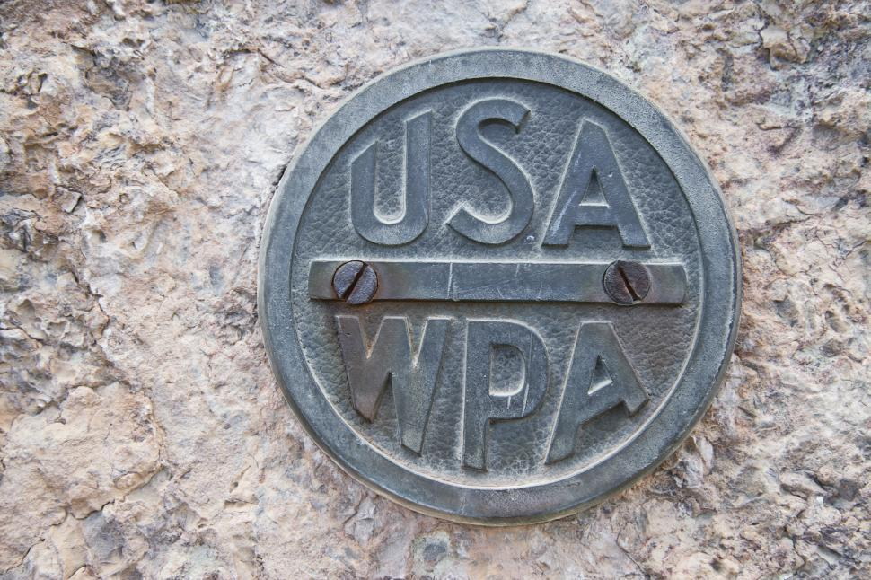 Download Free Stock HD Photo of WPA Sign Online