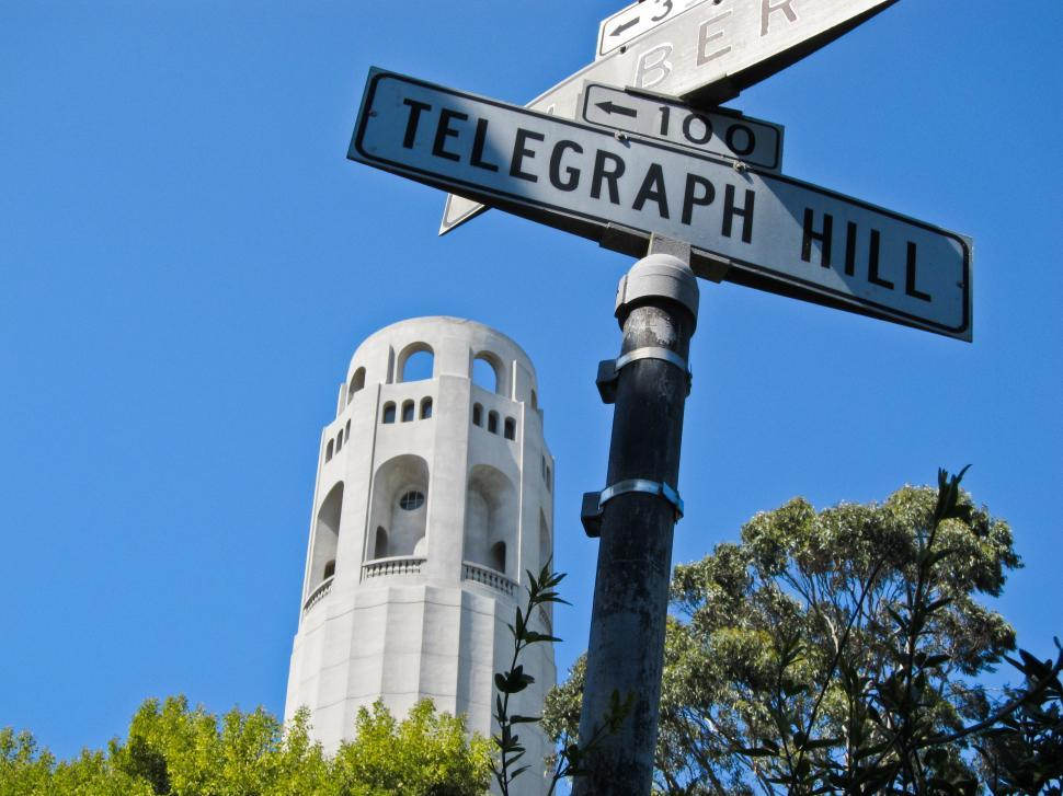 Download Free Stock HD Photo of Coit Tower, Telegraph Hill Online