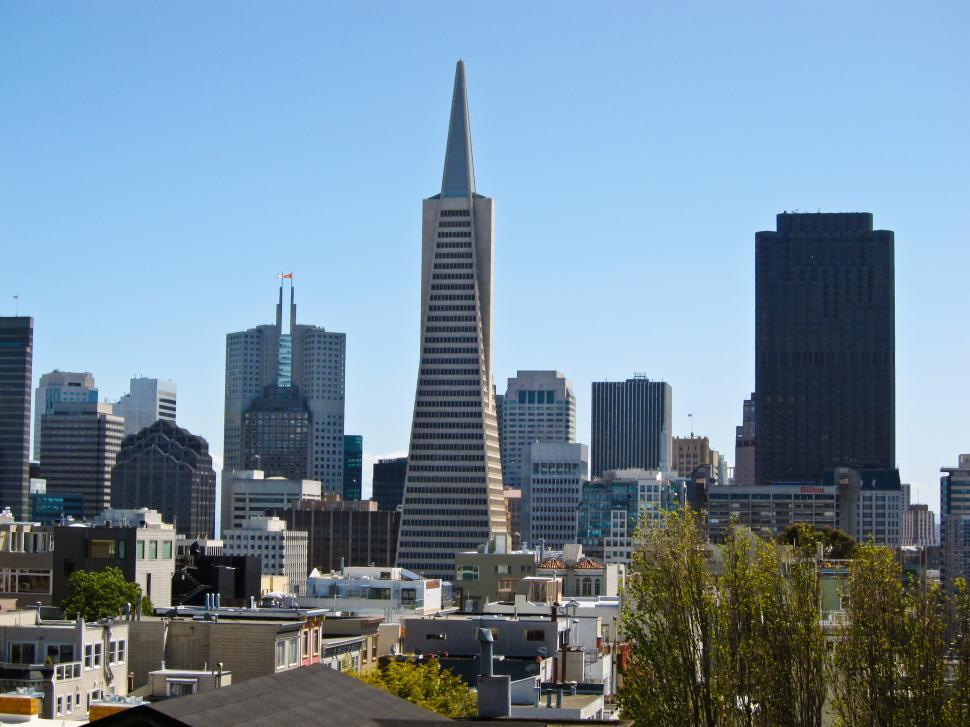 Download Free Stock HD Photo of Transamerica Building View Online