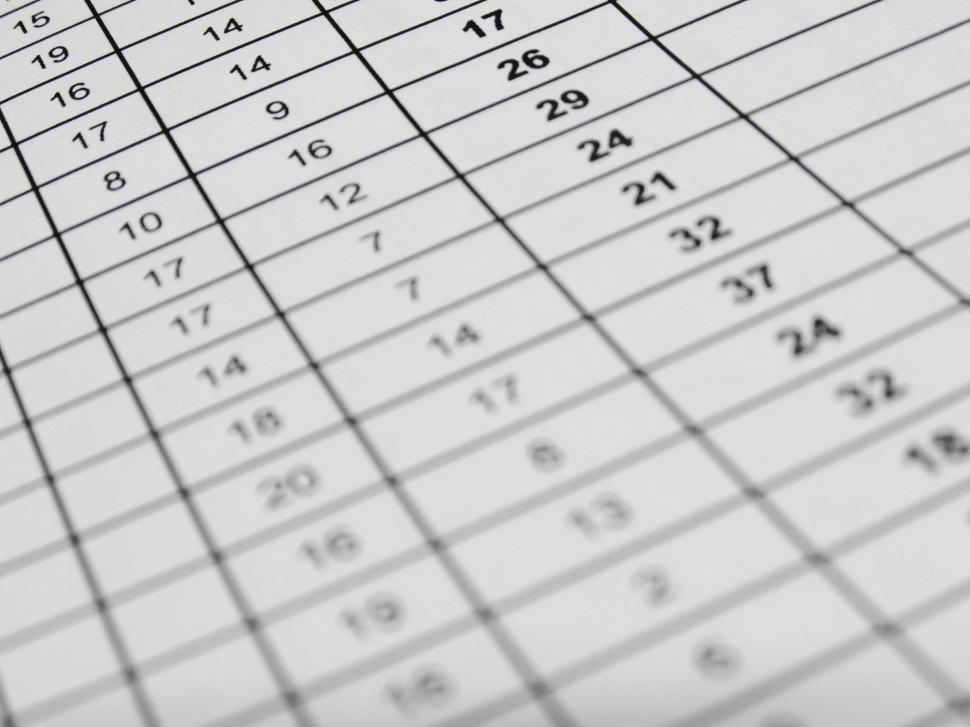 Download Free Stock HD Photo of Excel Data Online