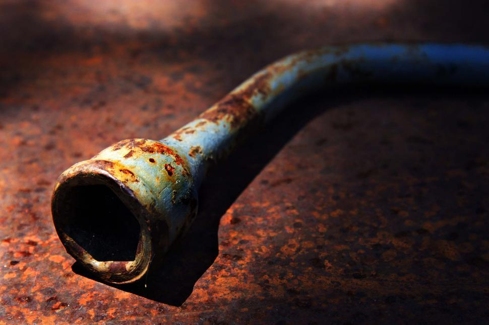 Download Free Stock HD Photo of Rusty tire iron Online