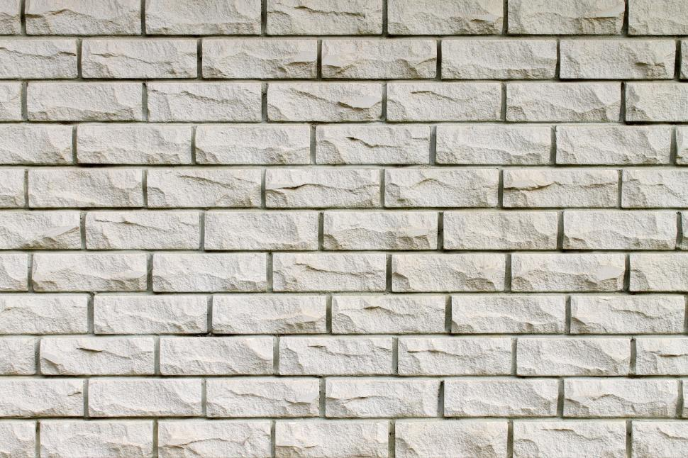 Download Free Stock HD Photo of White brick wall Online