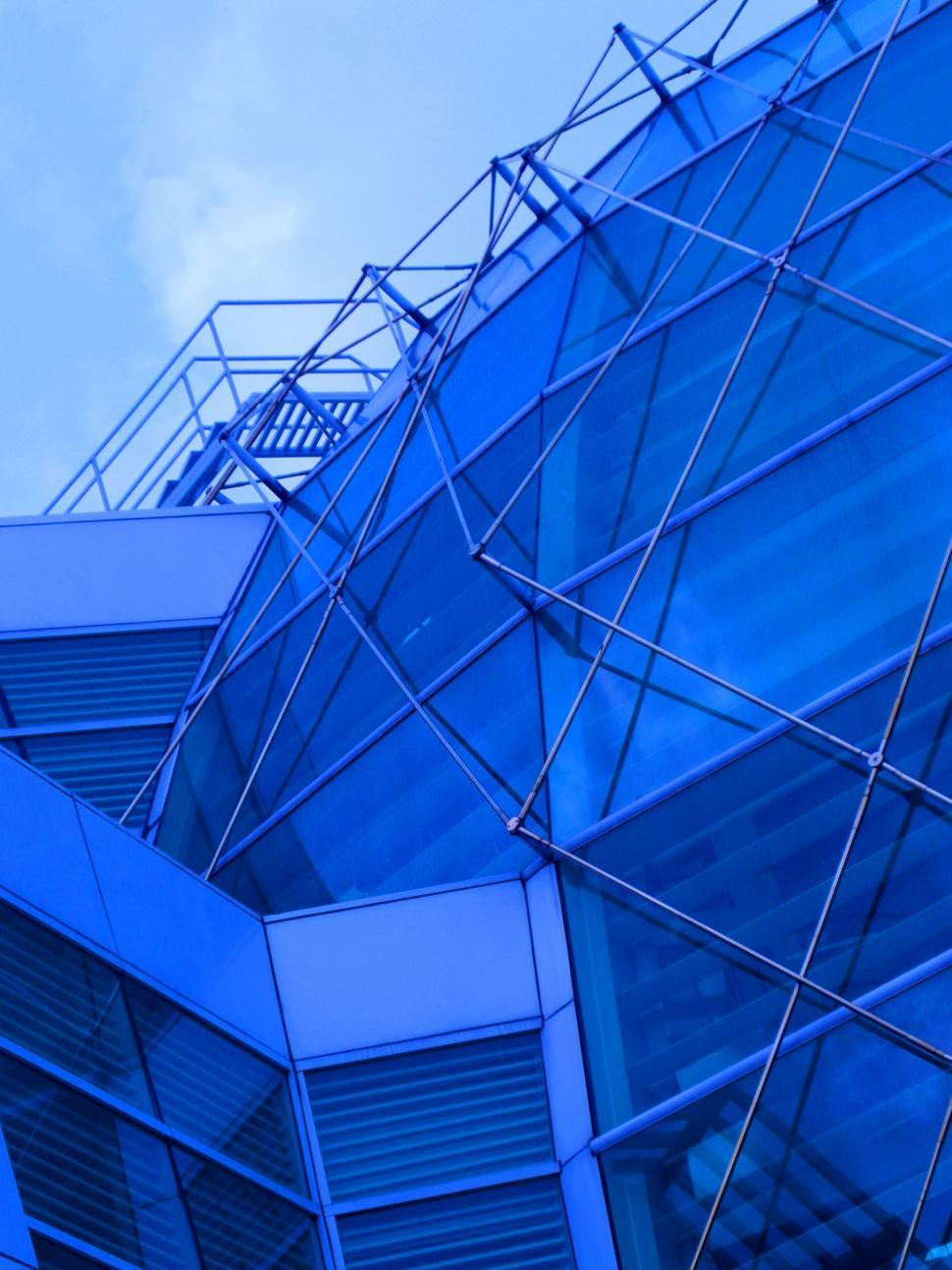 Download Free Stock HD Photo of Blue Dome Abstract Online
