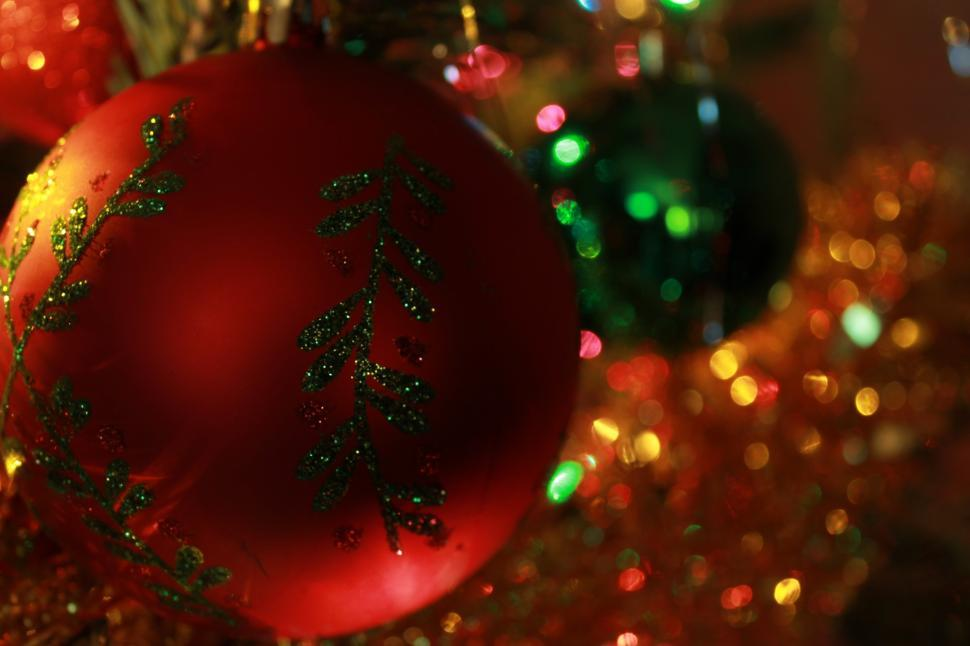Download Free Stock HD Photo of Christmas decorations Online