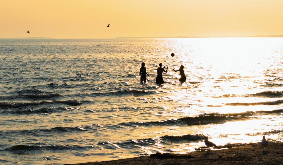 Download Free Stock HD Photo of Splashin summer fun Online