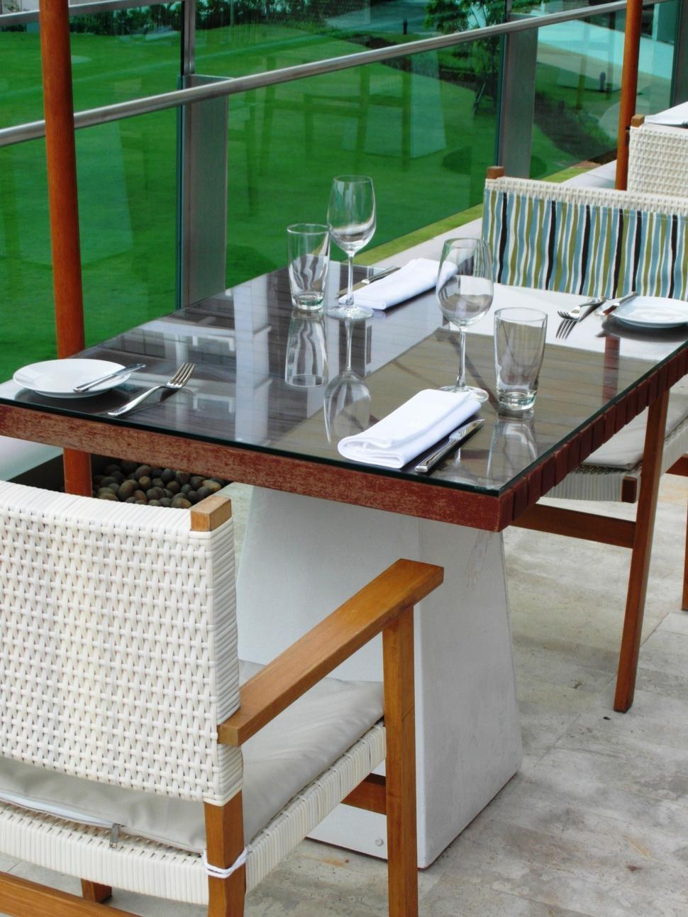 Download Free Stock HD Photo of Luxury terrace Online