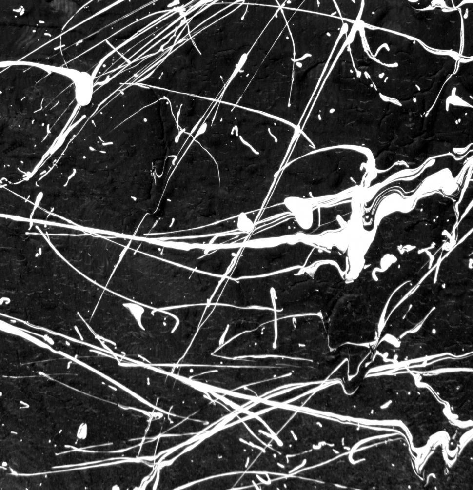 Download Free Stock HD Photo of Black and White Paint Splat Online