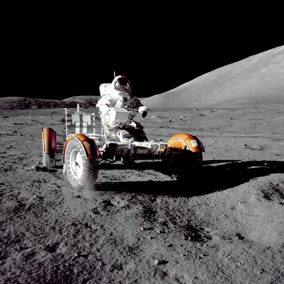 Download Free Stock HD Photo of Lunar Rover Online