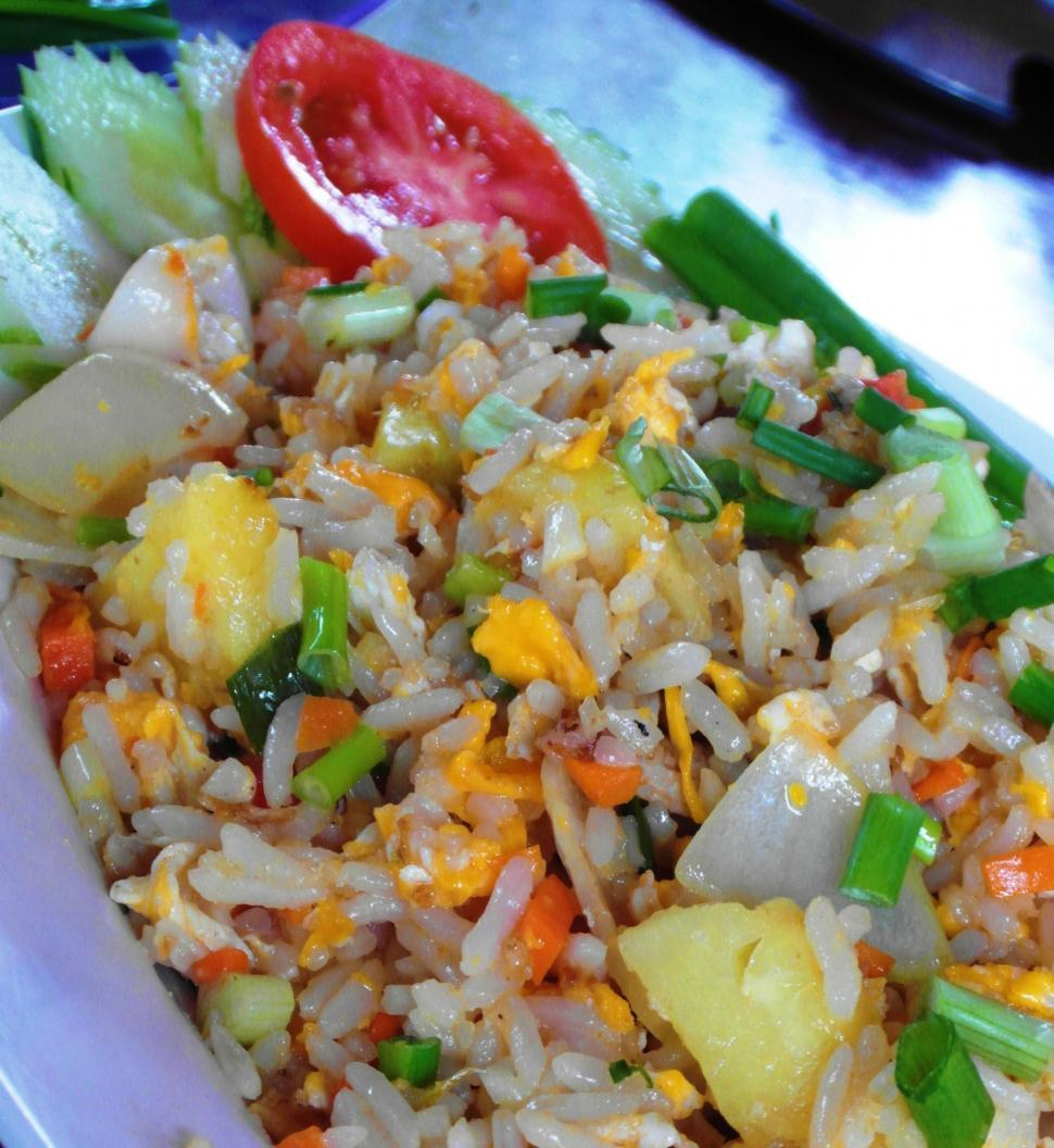Download Free Stock HD Photo of Stir Fried Rice Online