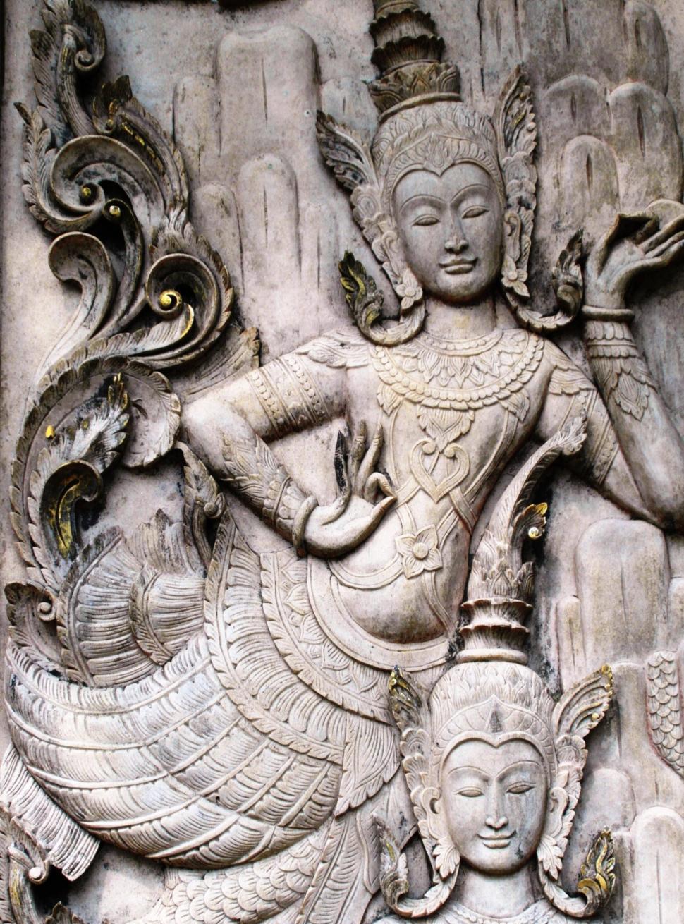 Download Free Stock HD Photo of Oriental Mermaid Goddess Online