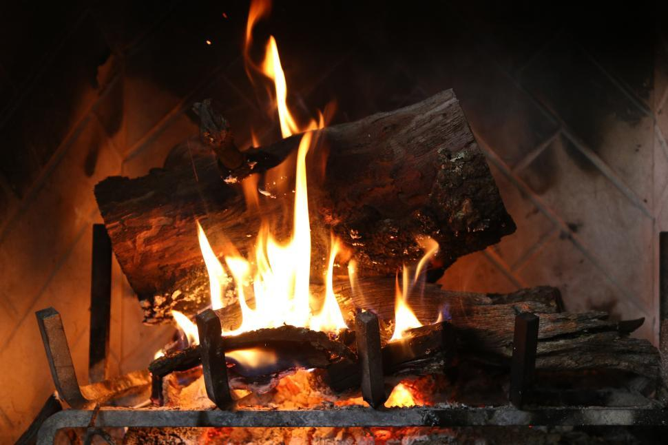 Download Free Stock HD Photo of Fireplace Online
