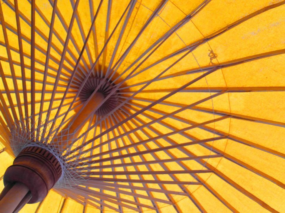 Download Free Stock HD Photo of Bright Oriental Sun Umbrella Online