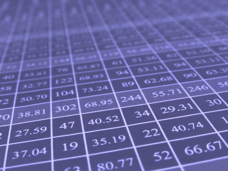 Download Free Stock HD Photo of Excel Data Table Online