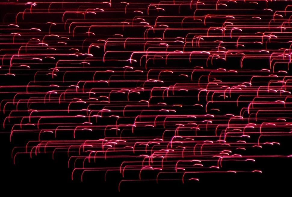 Download Free Stock HD Photo of Red Lines Light Effect Online