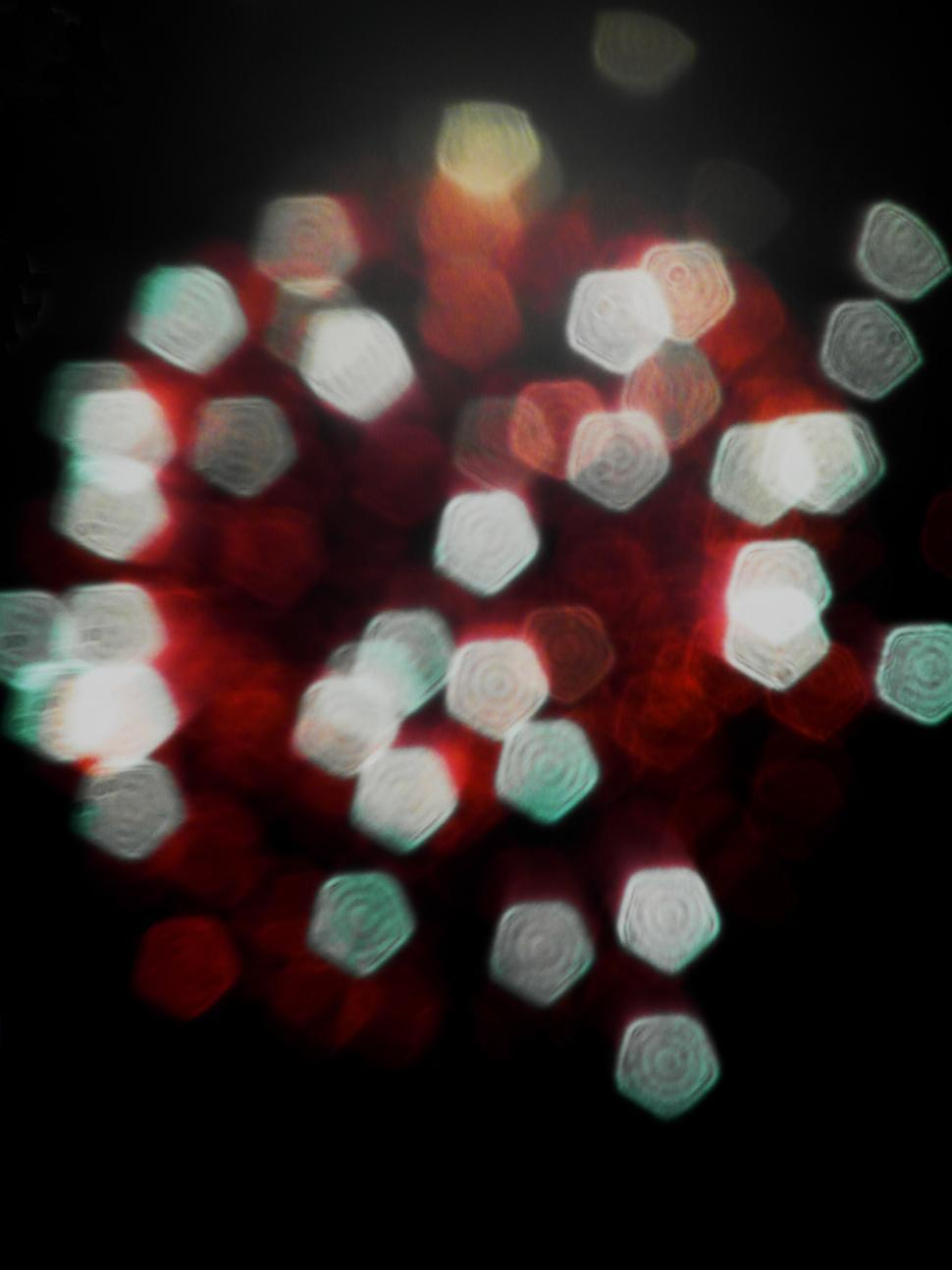 Download Free Stock HD Photo of Red and White Light Bokeh Online