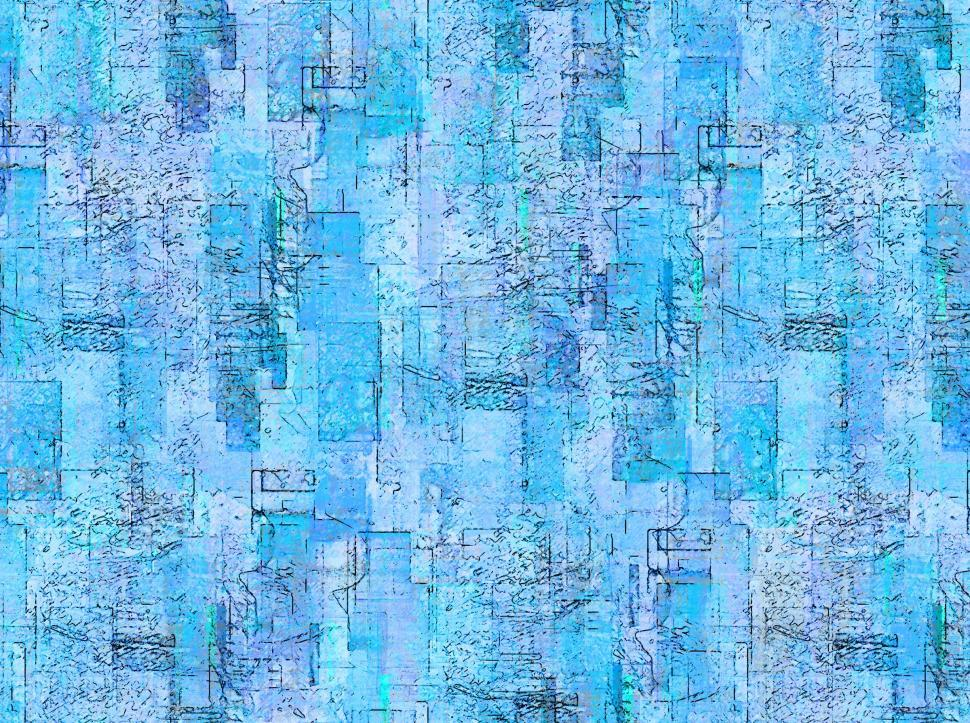 Abstract Blue Background Repeating Pattern