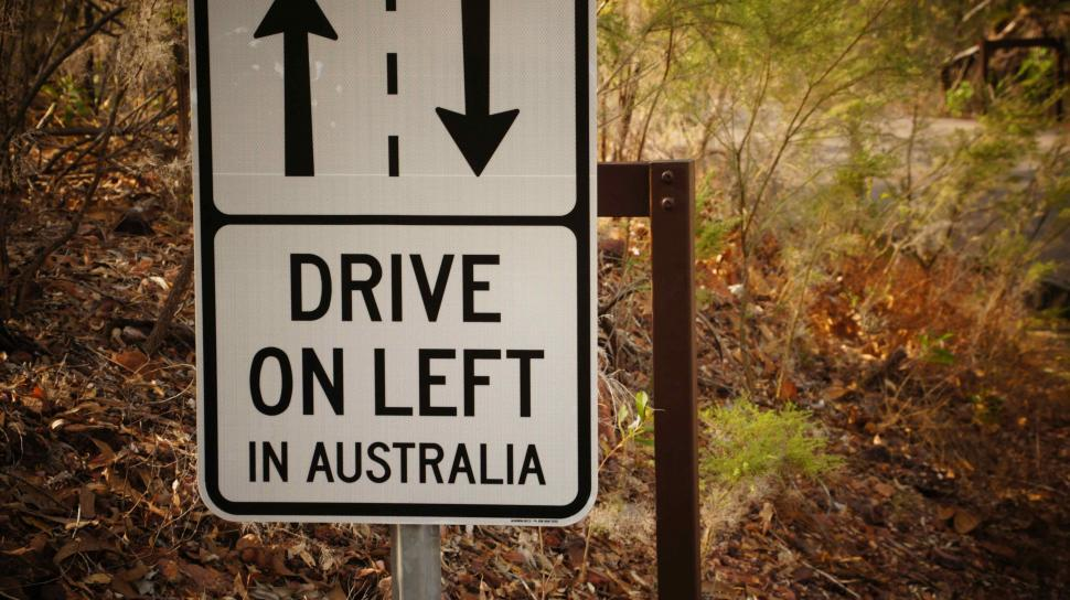 Download Free Stock HD Photo of Drive on Left in Australia Online
