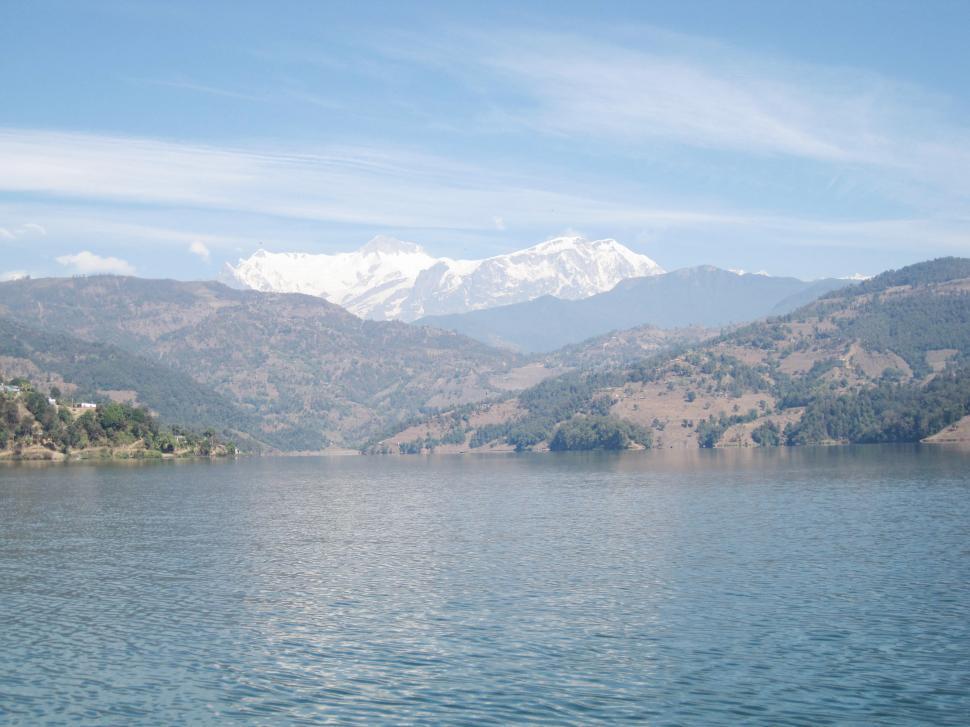 Download Free Stock HD Photo of Begnas lake Online