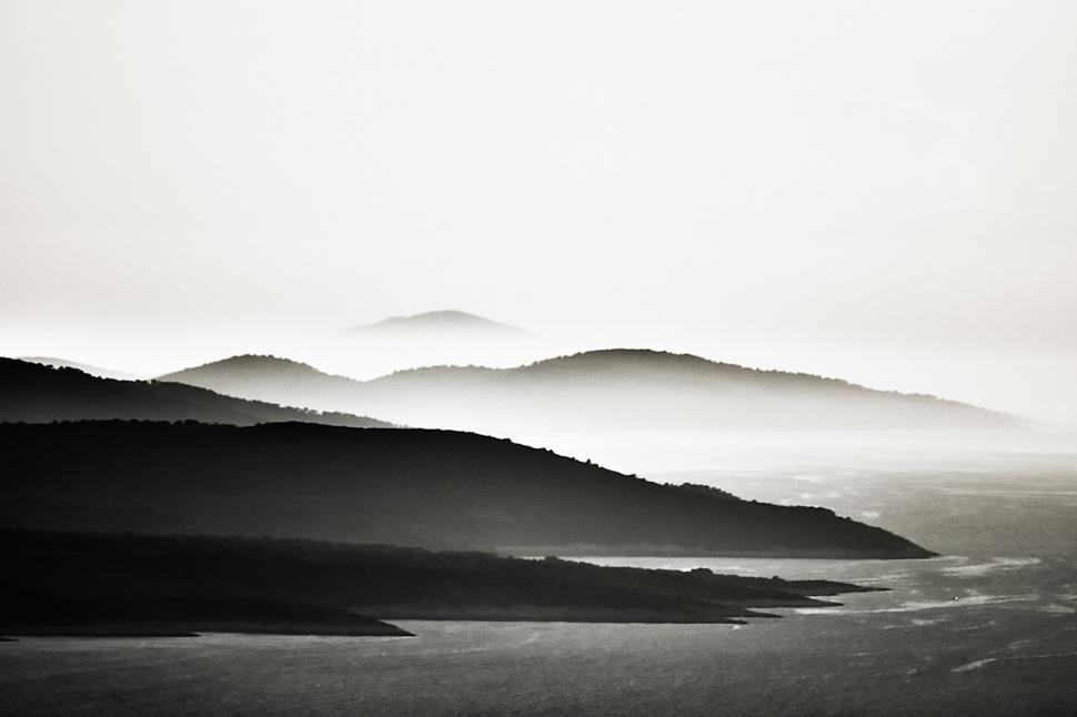 Download Free Stock HD Photo of Island in the mist Online