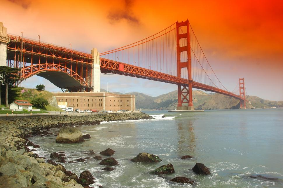 Download Free Stock HD Photo of Golden Gate Bridge San Francisco Online