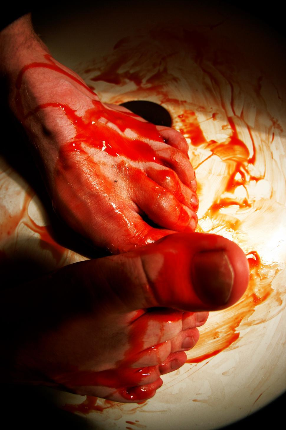 Download Free Stock HD Photo of Bloody Feet Online