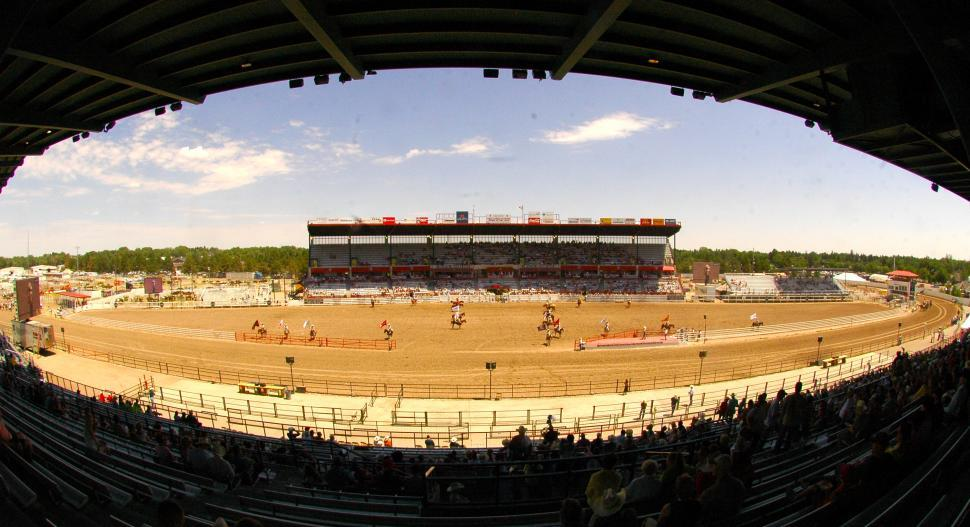 Download Free Stock HD Photo of The Rodeo Grand Daddy of them all in Cheyenne, WY Online
