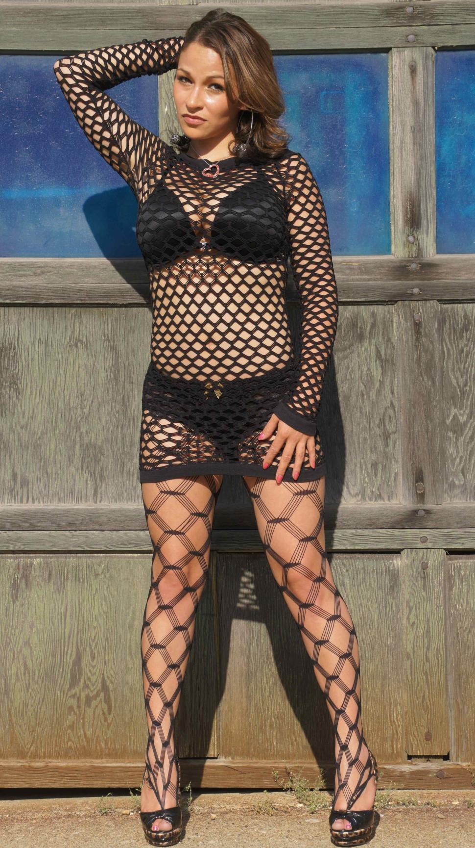 Download Free Stock HD Photo of Woman Opening Garage Door Online