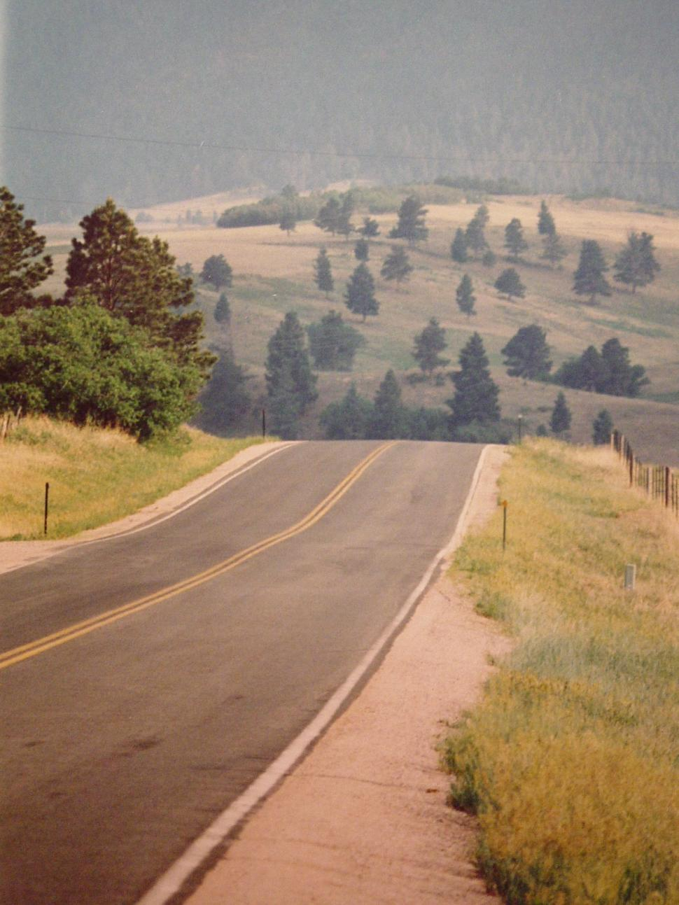 Download Free Stock HD Photo of Road Downhill to Somewhere Online