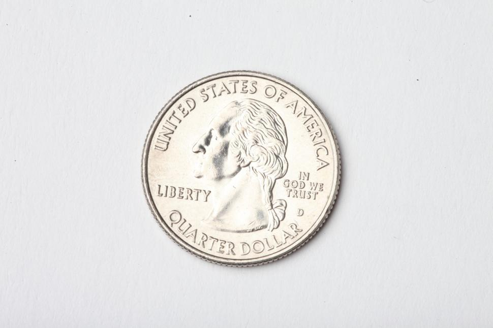 Download Free Stock HD Photo of United States Quarter Online