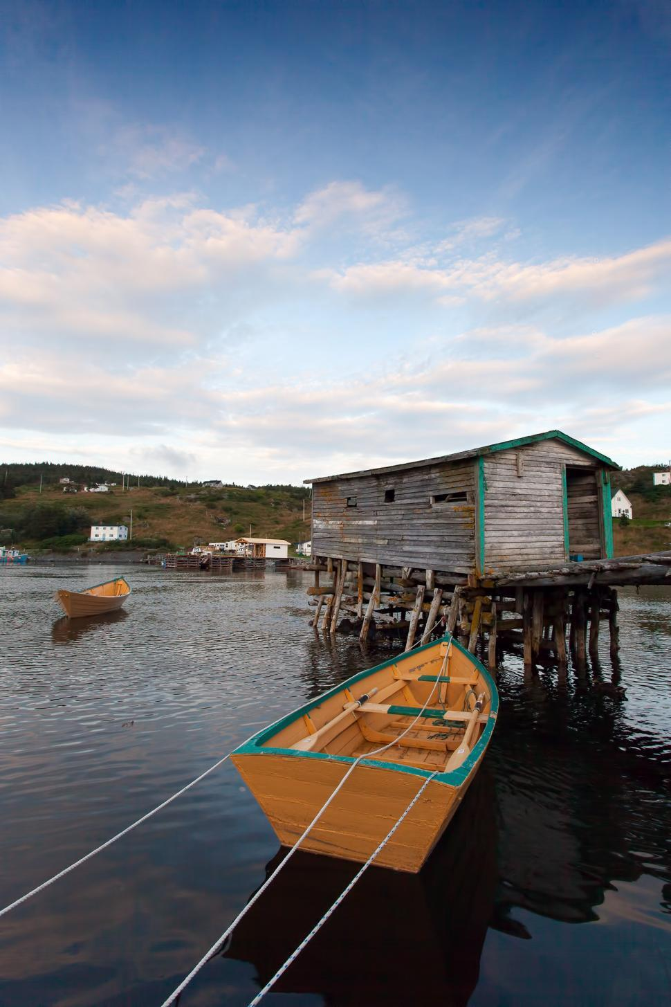 Download Free Stock HD Photo of Old fishing stage Online