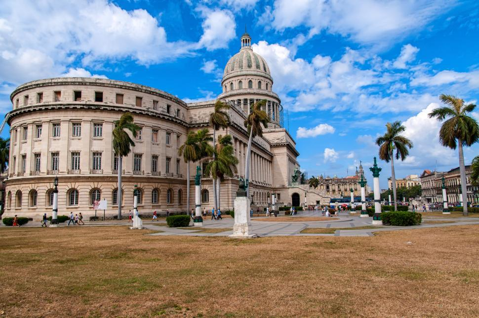 Download Free Stock HD Photo of The Capitol Building in Havana Online