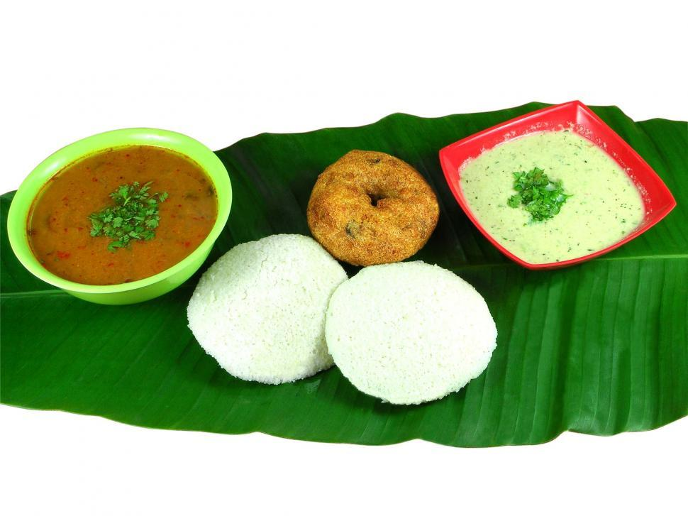 Download Free Stock HD Photo of Idli and Vada Online