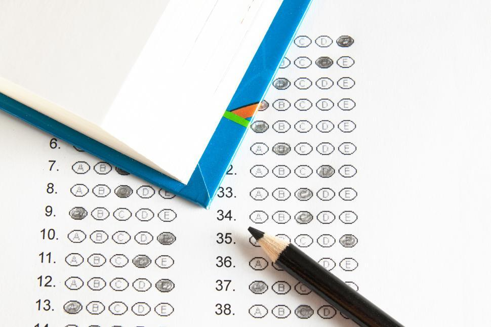 Download Free Stock HD Photo of School test Online