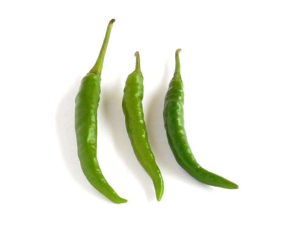 Download Free Stock HD Photo of Green Chilies Online