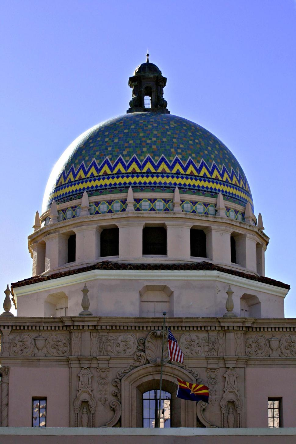 Download Free Stock HD Photo of Old Pima County courthouse Online