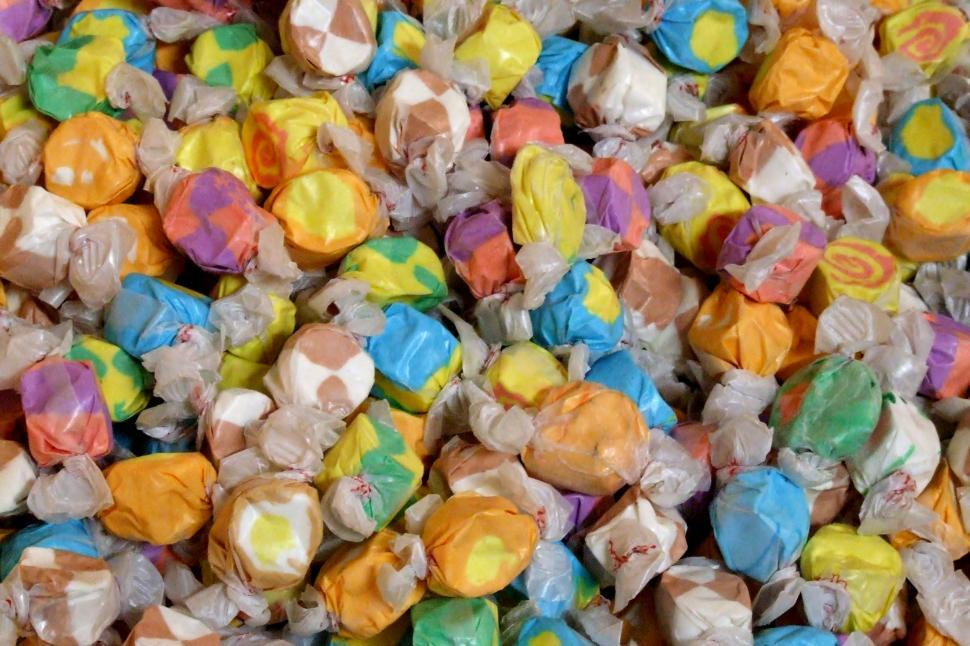 Download Free Stock HD Photo of Salt Water Taffy Online