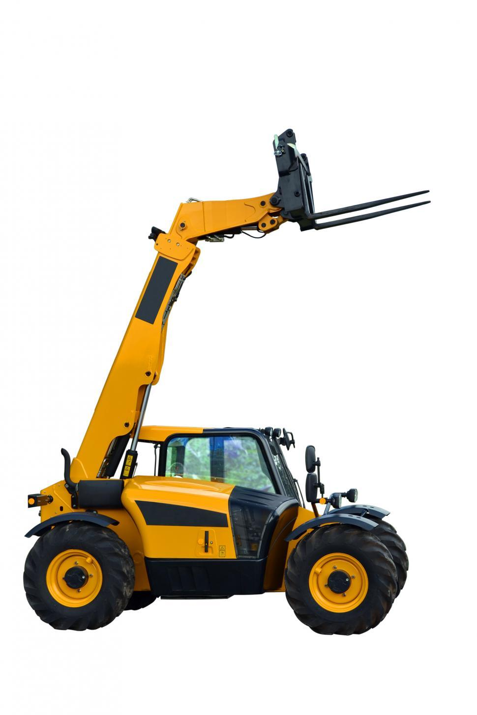 Download Free Stock HD Photo of Isolated telescopic handler Online