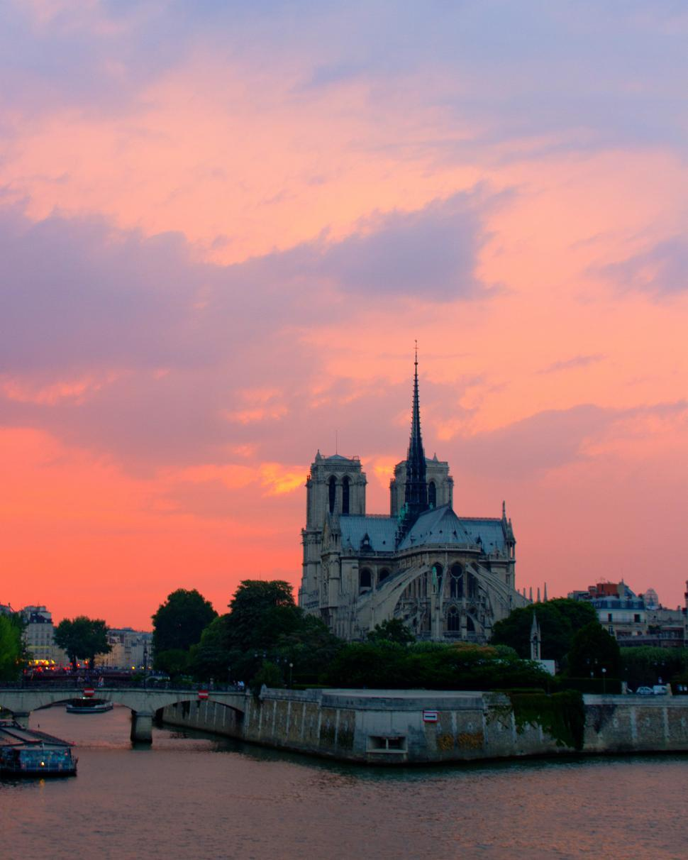 Download Free Stock HD Photo of Notre Dame cathedral  Online
