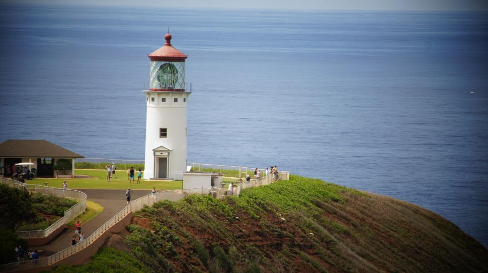 Download Free Stock HD Photo of Hawaii Lighthouse Online
