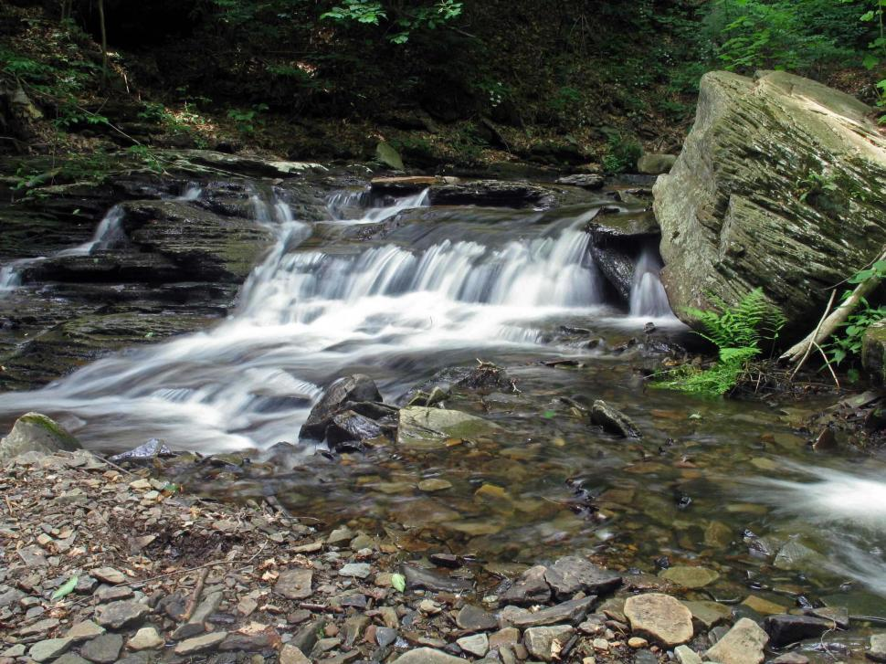 Download Free Stock HD Photo of Cascades at Ricketts Glen State Park Online