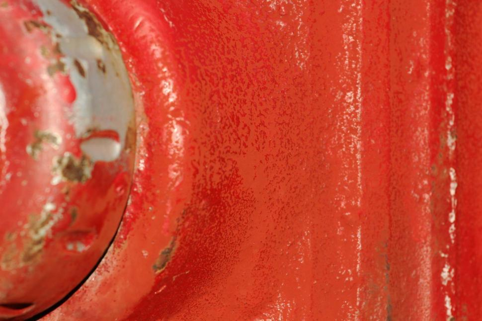 Download Free Stock HD Photo of Red hydrant paint Online