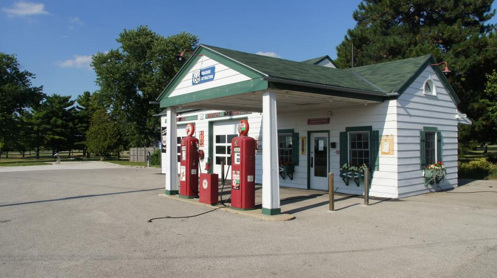 Download Free Stock HD Photo of Old Texeco Gas Station on Route 66 Online