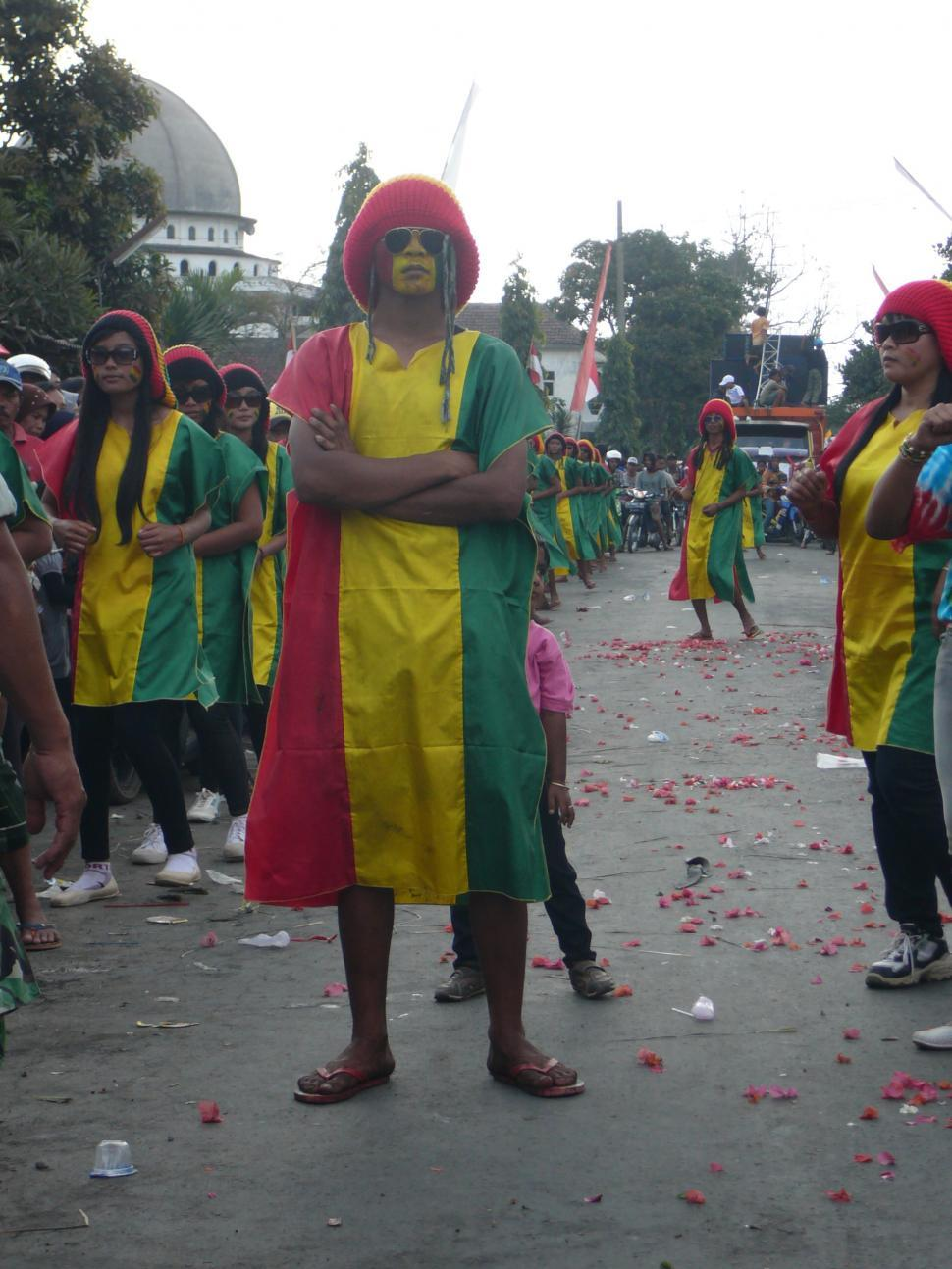 Download Free Stock HD Photo of BOB Marley -Karnaval 2013 Online