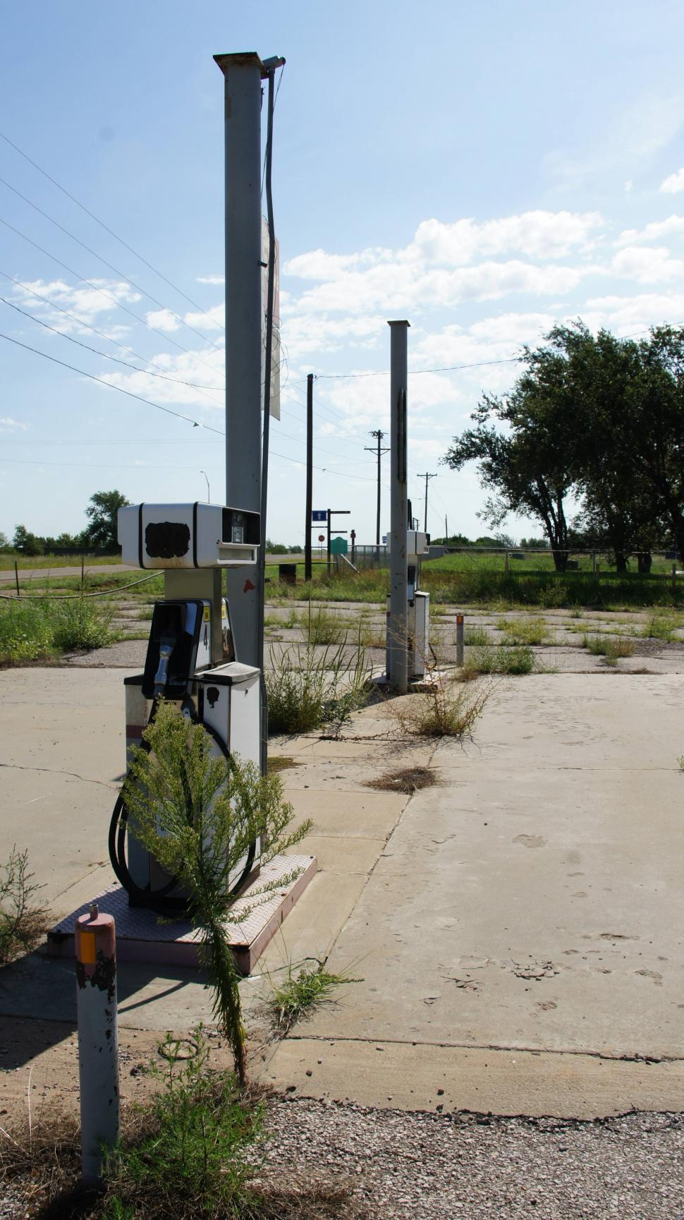 Download Free Stock HD Photo of Abandoned Gas Station Online